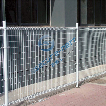 Welded Double Lap Wire Mesh Fence