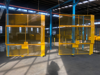 PVC Coated wire mesh fence gate