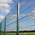 3D Curvy Welded Mesh Fence