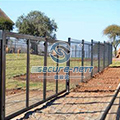 PVC Coated 358 Security Anti Climb Fence
