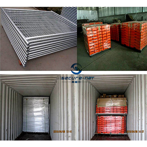 Galvanized temporary fence movable construction packing