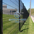 Curved Wire Mesh Panel