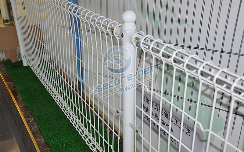 Double Roll Top Fencing