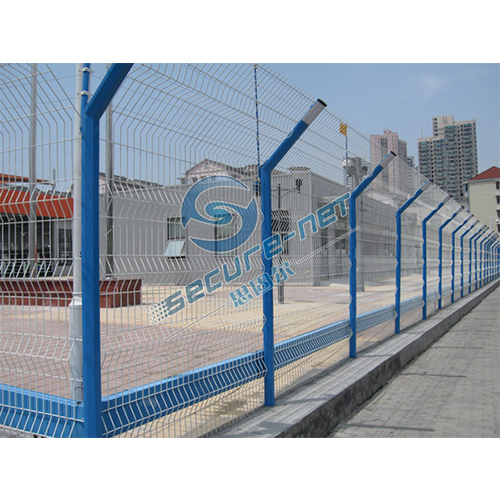 China Powder Coated 3D Curved Wire Mesh Fence
