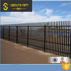 Steel Palisade Fencing Panels