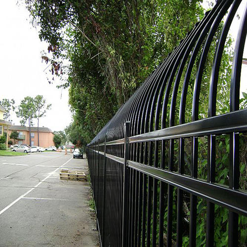Green PVC Coated Palisade Fence